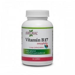 Vitamín B17 - Amygdalin - 70mg - 60 tablet