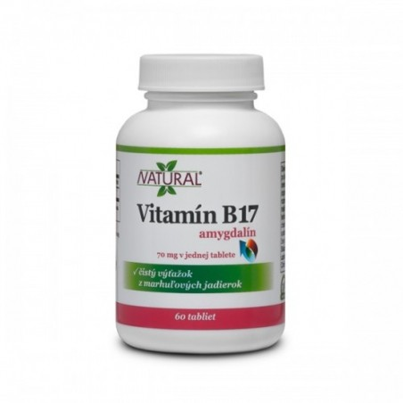 Vitamín B17 - Amygdalin - 70mg - 60 tablet