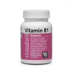 Vitamin B1 50 mg 60 tablet
