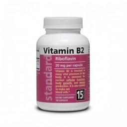 Vitamín B2 20 mg 100 tobolek