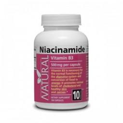 Vitamín B3 - Niacinamid - 500 mg - 100 tobolek