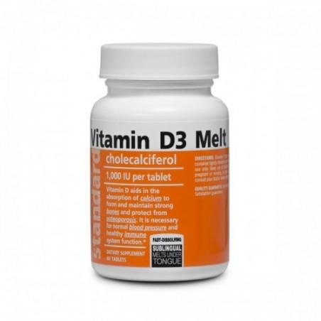 Vitamin D3, 60 tablet
