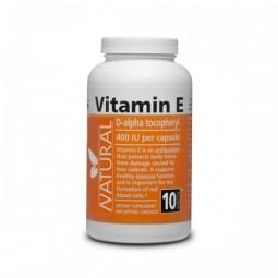 Vitamin E 400 IU přírodní,400 kapslí