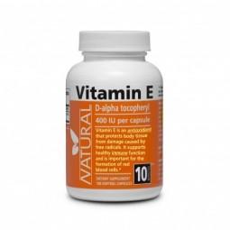 Vitamín E 400 IU přírodní, 100 kapslí