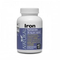 Železo, 20 mg, 100 kapslí