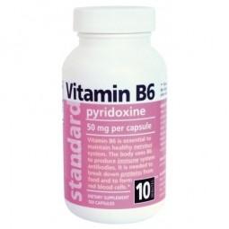 Vitamin B6 20 mg, 100 kapslí