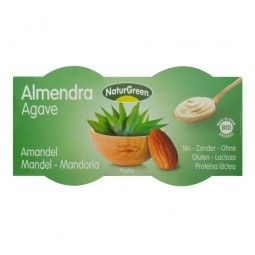 Dezert mandlový s agávovým sirupem 2x125 g BIO