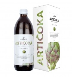 Artyčok (100% šťáva z listů artyčoku zeleninové s přídavkem vit. C 500 ml)
