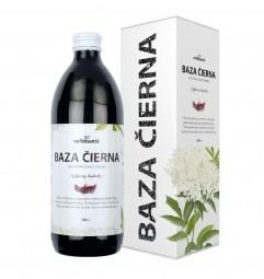 ČERNÝ BEZ (100% šťáva z černého bezu s přídavkem vitamínu C 500 ml)