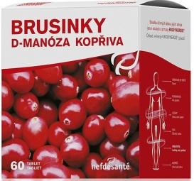 BRUSINKY D-manosa KOPŘIVA (tbl 6x10 (60 ks))