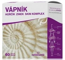 VÁPNÍK HOŘČÍK ZINEK SKIN KOMPLEX (tbl 6x10 (60 ks))