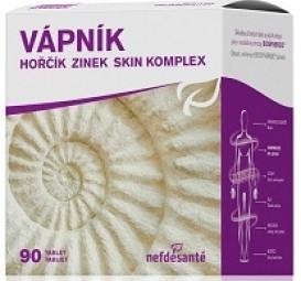 VÁPNÍK HOŘČÍK ZINEK SKIN KOMPLEX (tbl 9x10 (90 ks))