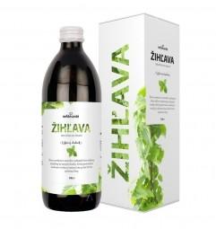 KOPŘIVA (100% šťáva z listů kopřivy dvoudomé s přídavkem vitamínu C 500 ml)