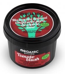 Přírodní tonizační maska na obličej - Tomato blush
