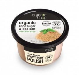 Organic Shop - Koupelový cukrový peeling s mořskou solí