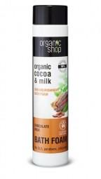 Organic Shop - Vyživující pěna do koupele Čokoládové mléko 500 ml
