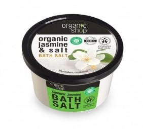 Organic Shop - Jasmín - Sůl do koupele 250 ml