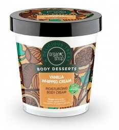 Organic Shop - Hydratační tělový krém - Vanilková šlehačka 450 ml