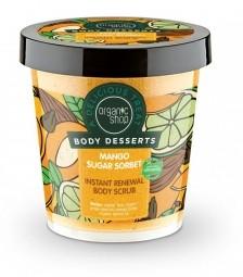 Organic Shop - Mangový cukrový sorbet - Tělový peeling 450ml