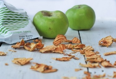 Křupavé jablkové chipsy kyselé 20g