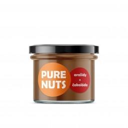 Pure ořechy Arašídy + čokoláda, 200 g