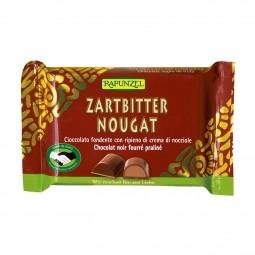 Horká čokoláda s náplní oříšků BIO 100 g Rapunzel *