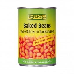Pečené fazole BIO 400 g Rapunzel*
