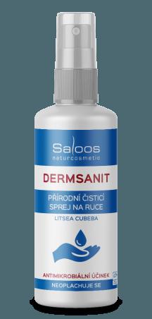 Přírodní bezoplachový čisticí sprej Dermsanit 50 ml