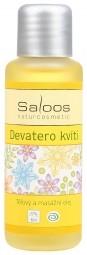 Devět květů - tělový a masážní olej 50