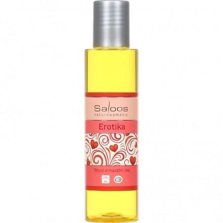 Erotika - tělový a masážní olej 125
