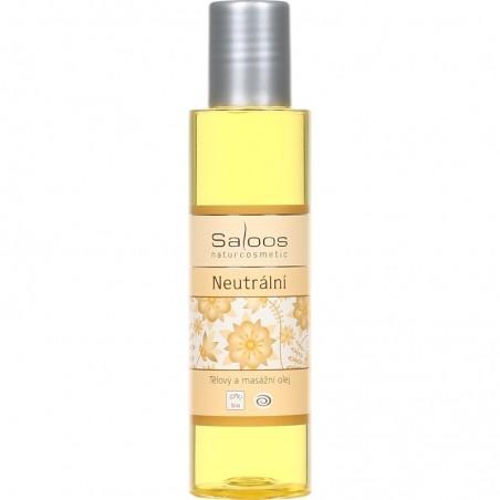 Neutrální olej - tělový a masážní olej 125