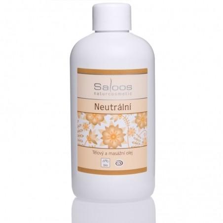 Neutrální olej - tělový a masážní olej 250