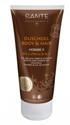 HOMME II sprchový gel a šampon BIO Kofein a Acai