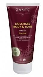 HOMME sprchový gel a šampon BIO Aloe