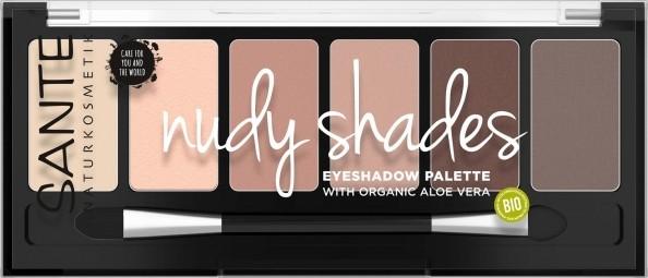 Minerální oční stíny Palette nudy shades 6 g