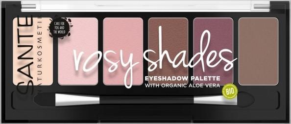 Minerální oční stíny Palette rosy shades - 6g