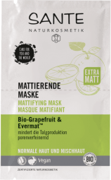Zmatňující maska BIO grapefruit a Evermat