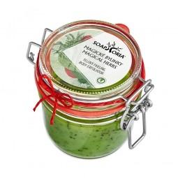 Magické bylinky (Babiččina zahrádka) - organický solný tělový peeling