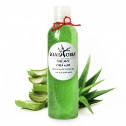 Čistá aloe - organický sprchový gel