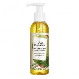 Magické bylinky - organický masážní olej