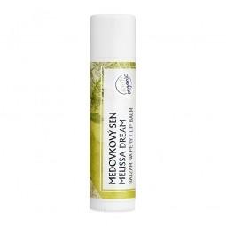 Meduňka - organický balzám na rty