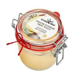 Mléčné potěšení - organický solný tělový peeling