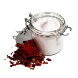 Romantická růže - organické tělové suflé
