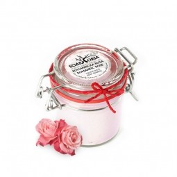 Romantická růže - XXL organické tělové suflé