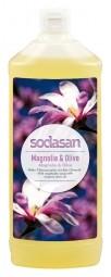 BIO tekuté mýdlo na ruce magnolie - oliva - 1litr