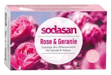 BIO pleťové mýdlo Cream Divoká Růže