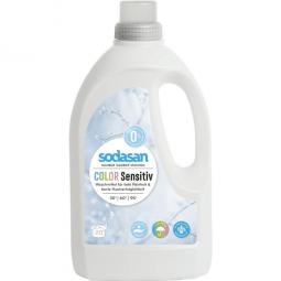 COLOR sensitive TEKUTÝ PRACÍ PROSTŘEDEK NA BAREVNĚ PRÁDLO BEZ esenciálních olejů 1.5L