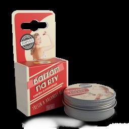 TOPVET Balzám na rty - Třešeň a arganový olej 15ml
