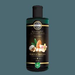 Kokos a vanilka v mandlovém oleji 200ml