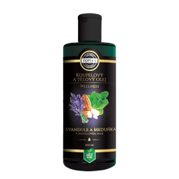 Levandule a meduňka v mandlovém oleji 200ml